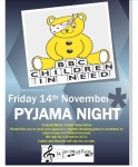 Fenland Music Centre - supporting Children in Need poster