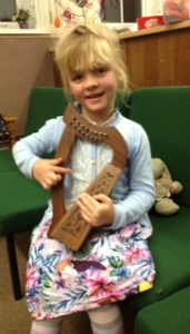The youngest little harpist!