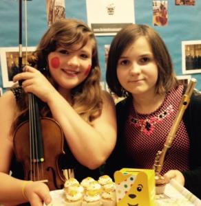 hannh furlong and Rose Garford BBC Children in need