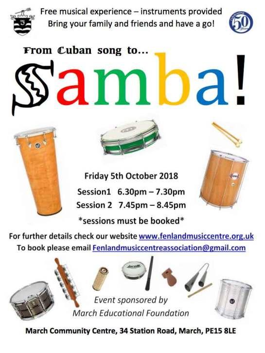 Free Samba music experience